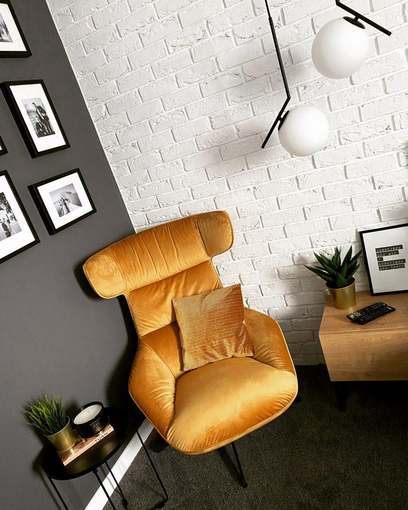 Obrotowy fotel Atero velvet